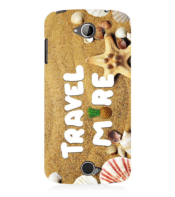 Travel More Back Cover for Acer Liquid Zade 530