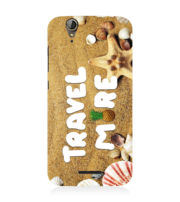 Travel More Back Cover for Acer Liquid Zade 630