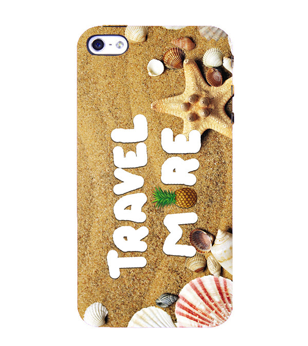 Travel More Back Cover for Apple iPhone 4 : 4S