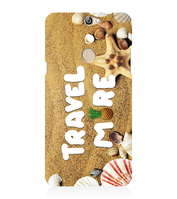 Travel More Back Cover for Coolpad Max