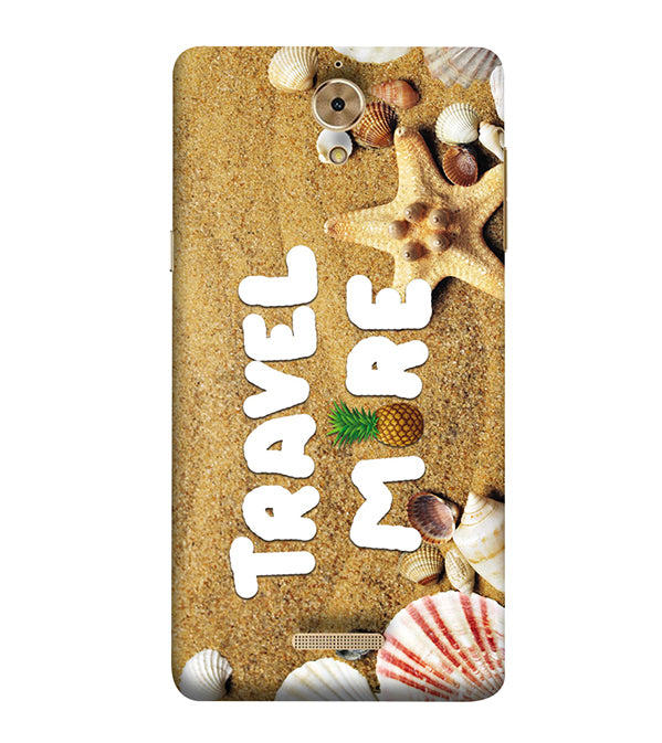 Travel More Back Cover for Coolpad Mega 2.5D