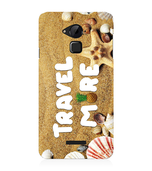 Travel More Back Cover for Coolpad Note 3