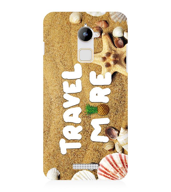 Travel More Back Cover for Coolpad Note 3 Lite