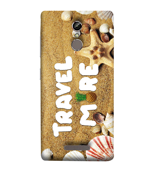 Travel More Back Cover for Gionee Elife S6S