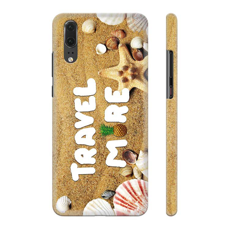 Travel More Back Cover for Huawei P20