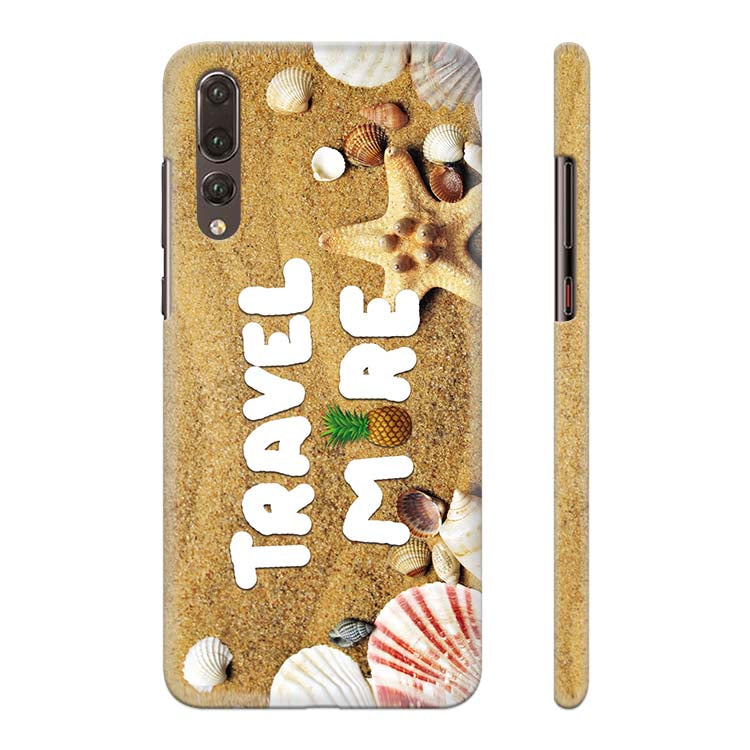 Travel More Back Cover for Huawei P20 Pro