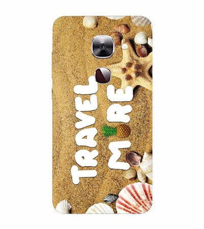 Travel More Back Cover for LeEco Le 2s