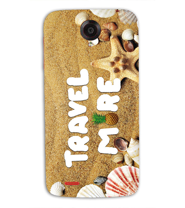 Travel More Back Cover for Lenovo S820