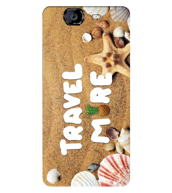Travel More Back Cover for Micromax A350 Canvas Knight