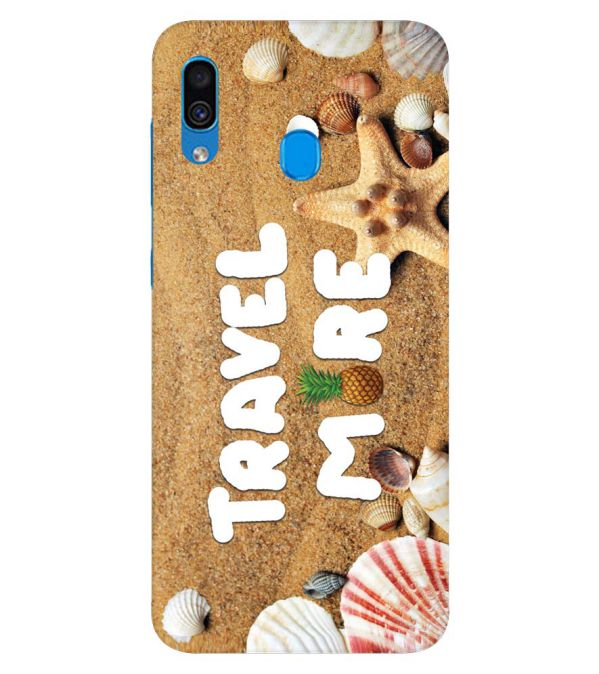 Travel More Back Cover for Samsung Galaxy A30