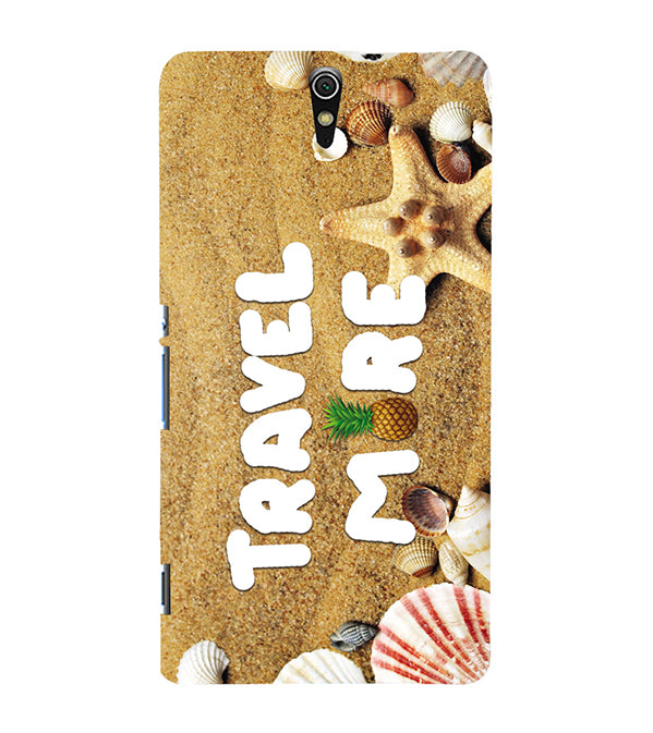 Travel More Back Cover for Sony Xperia C5