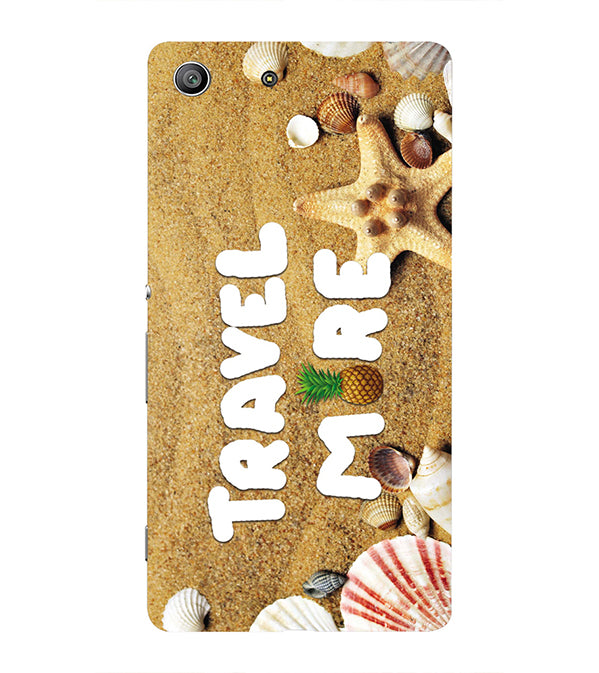 Travel More Back Cover for Sony Xperia Z3 Compact