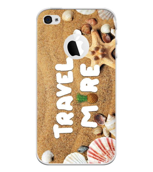 Travel More Back Cover for Apple iPhone 4 and iPhone 4S (Logo Cut)-Image3