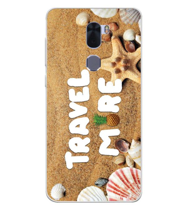 Travel More Soft Silicone Back Cover for Coolpad Cool 1