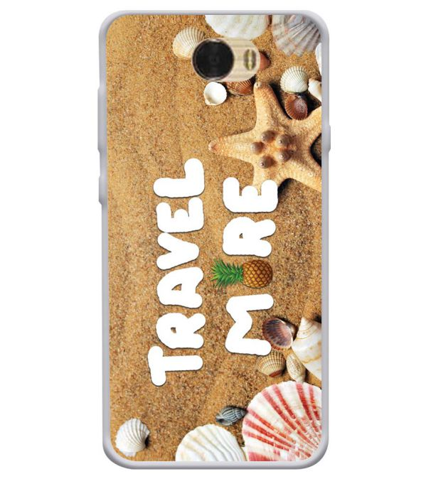 Travel More Soft Silicone Back Cover for Huawei Honor Bee
