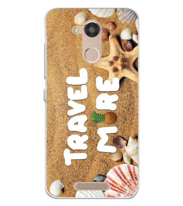 Travel More Soft Silicone Back Cover for InFocus Turbo 5s