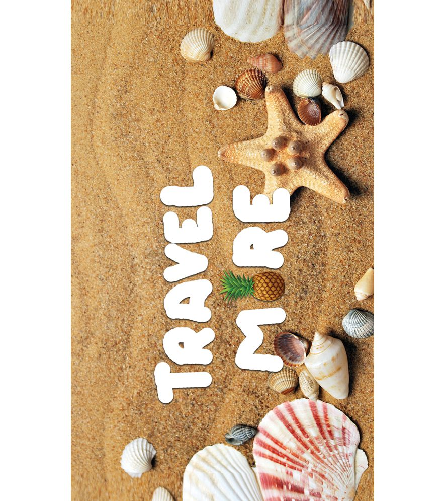 Travel More Back Cover for Intex Intx Trend Lite