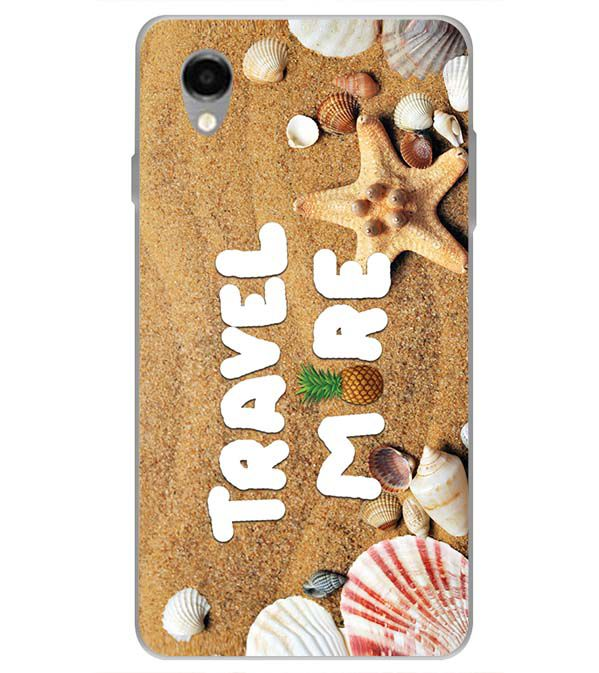Travel More Back Cover for ITEL PWO Pro