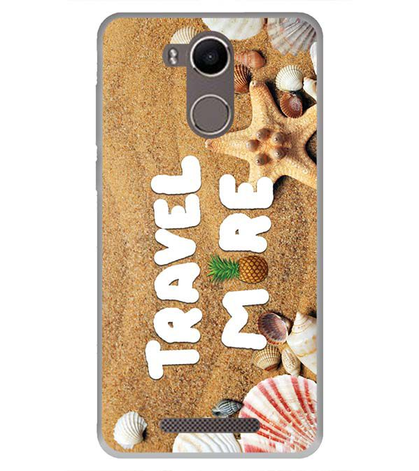 Travel More Back Cover for Karbonn K9 Kavach 4G