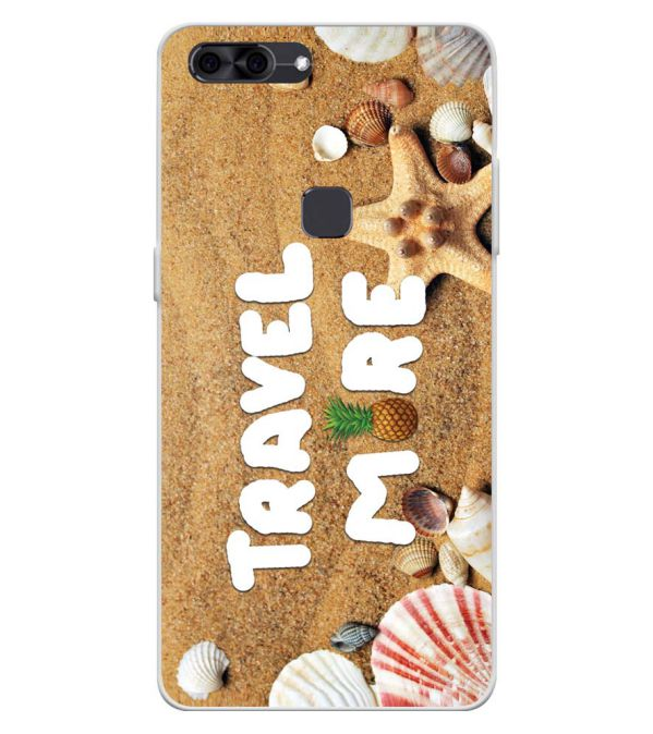 Travel More Soft Silicone Back Cover for Lava Z90