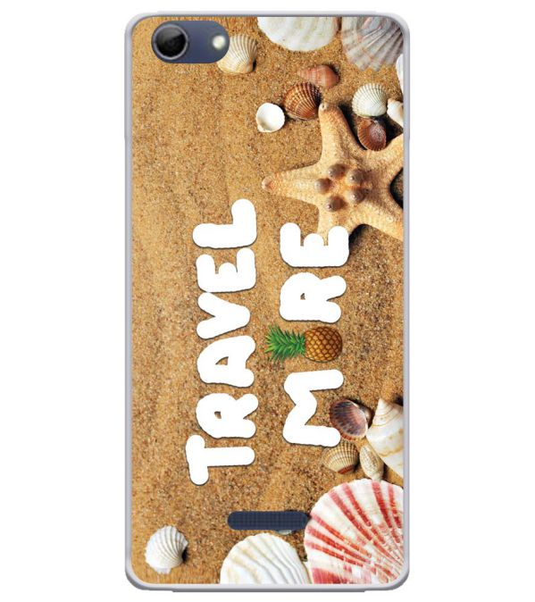 Travel More Soft Silicone Back Cover for Micromax Selfie 3 Q348