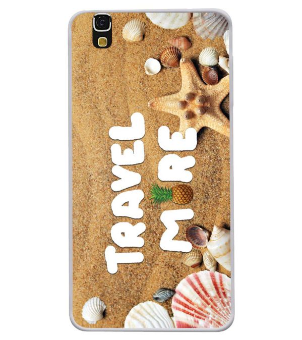 Travel More Soft Silicone Back Cover for Yu Yureka 5510