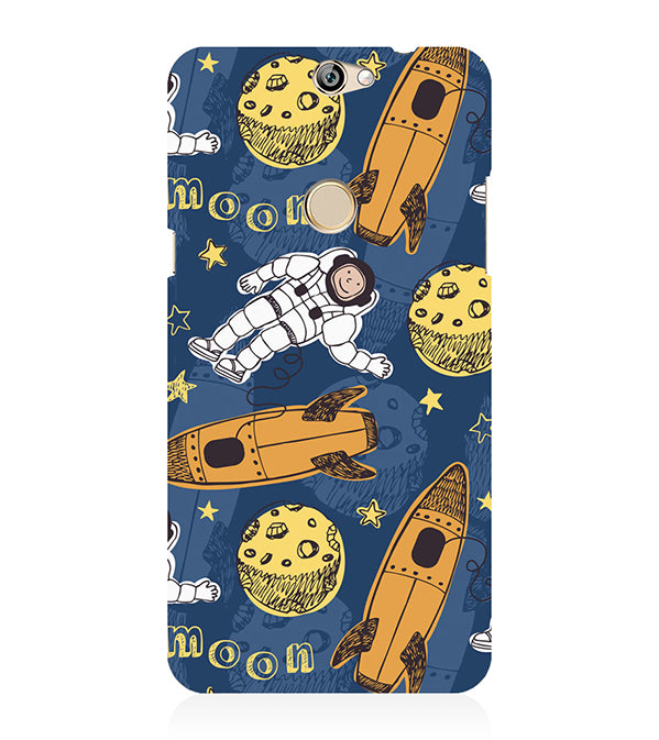 Travel To Moon Back Cover for Coolpad Max