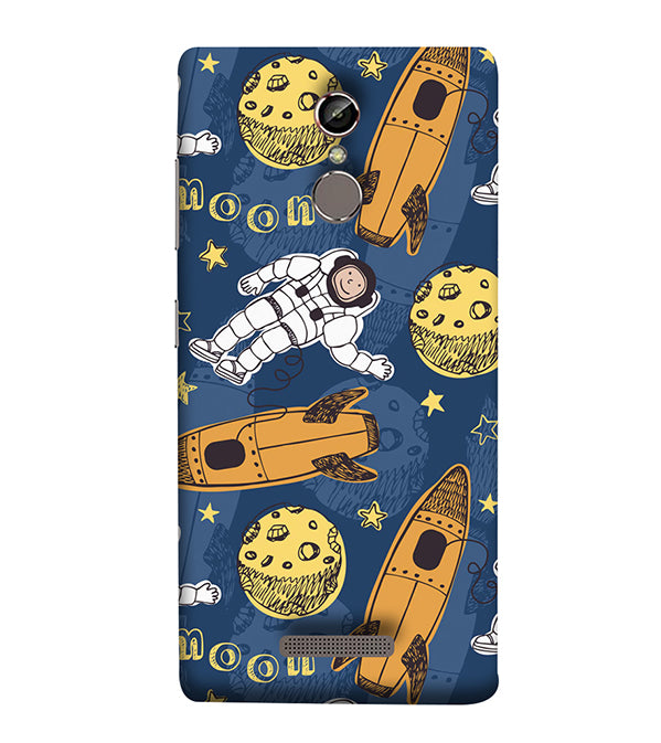 Travel To Moon Back Cover for Gionee Elife S6S
