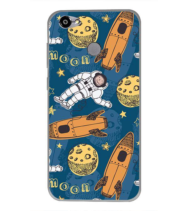 Travel To Moon Back Cover for Smartron TPhone (P)