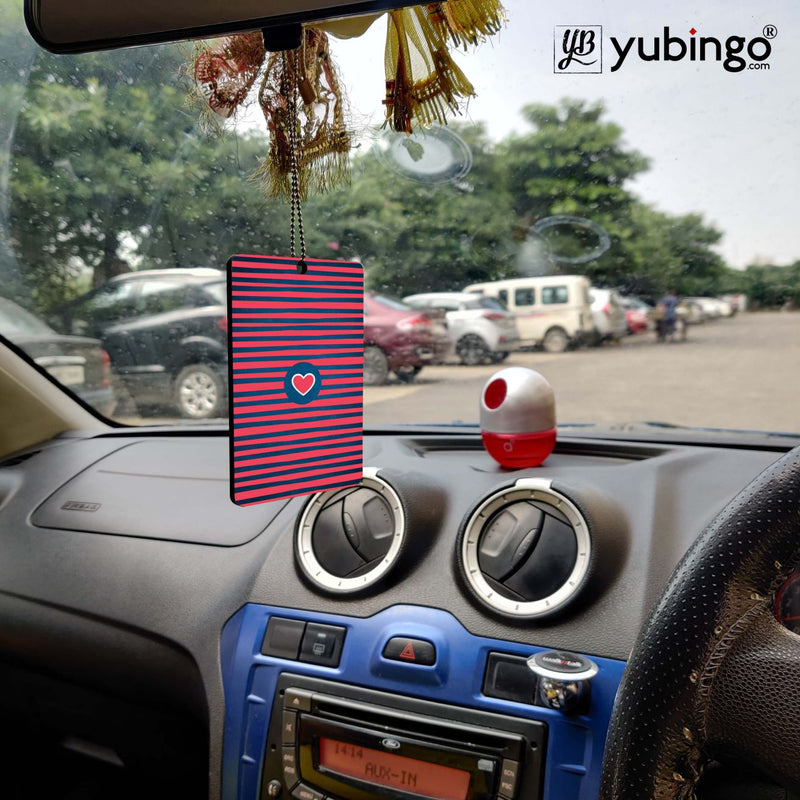 Trendy Heart Car Hanging
