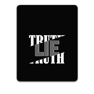 Truth and Lie Mouse Pad