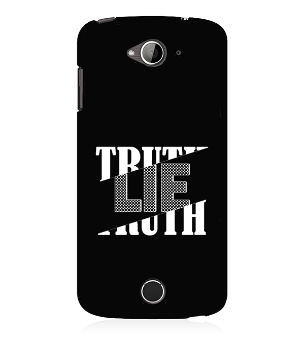 Truth and Lie Back Cover for Acer Liquid Zade 530