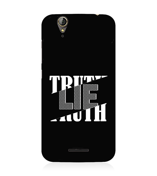 Truth and Lie Back Cover for Acer Liquid Zade 630