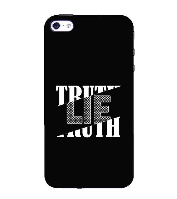 Truth and Lie Back Cover for Apple iPhone 4 : 4S