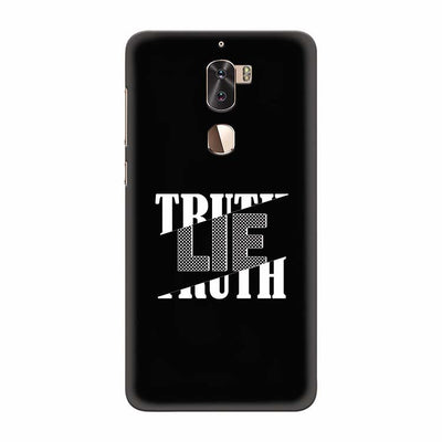 Truth and Lie Back Cover for Coolpad Cool 1
