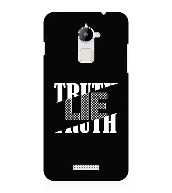 Truth and Lie Back Cover for Coolpad Note 3 Lite