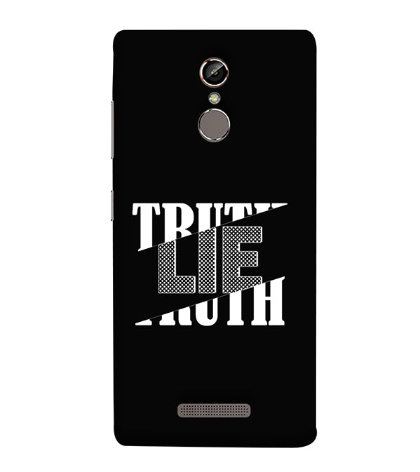 Truth and Lie Back Cover for Gionee Elife S6S
