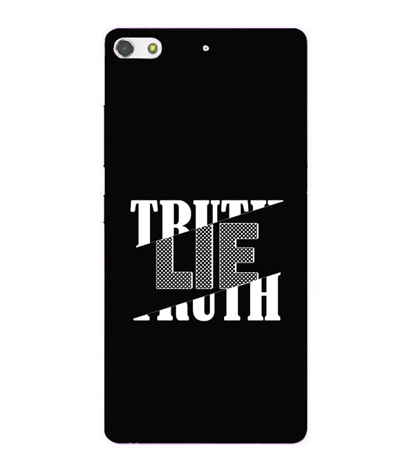 Truth and Lie Back Cover for Gionee Elife S7