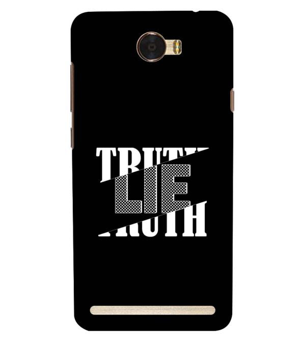 Truth and Lie Back Cover for Huawei Honor Bee 2 :: Huawei Y3 2
