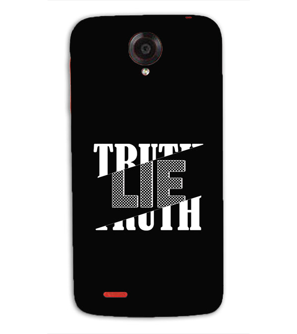 Truth and Lie Back Cover for Lenovo S820
