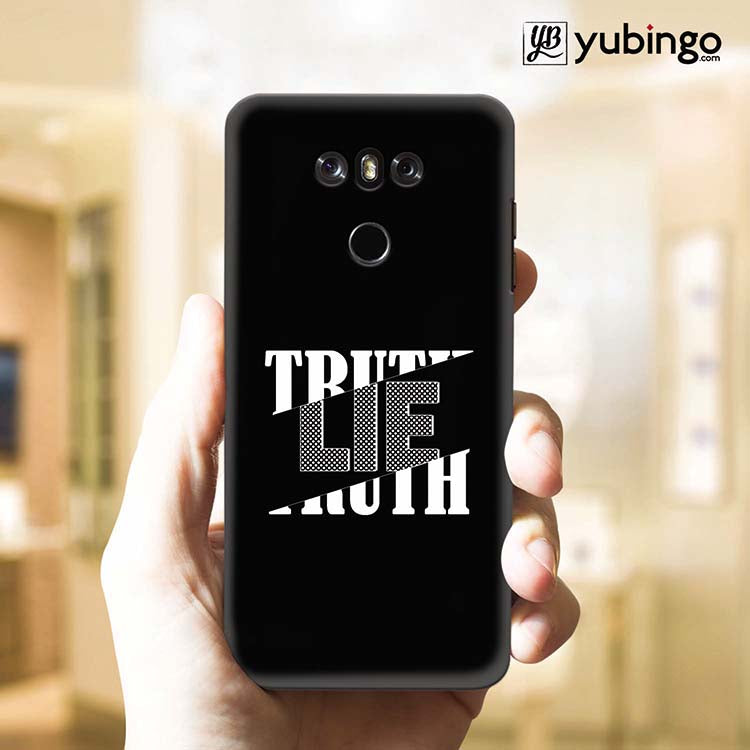 Truth and Lie Back Cover for LG G6