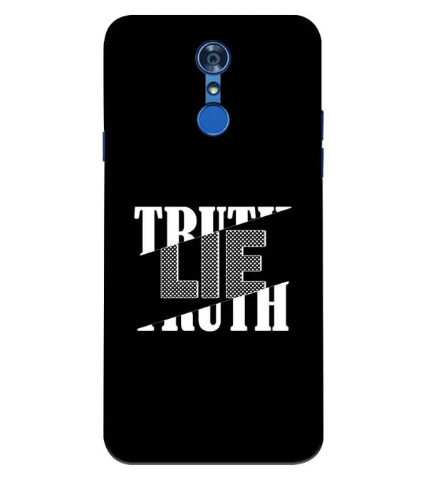 Truth and Lie Back Cover for LG Q7