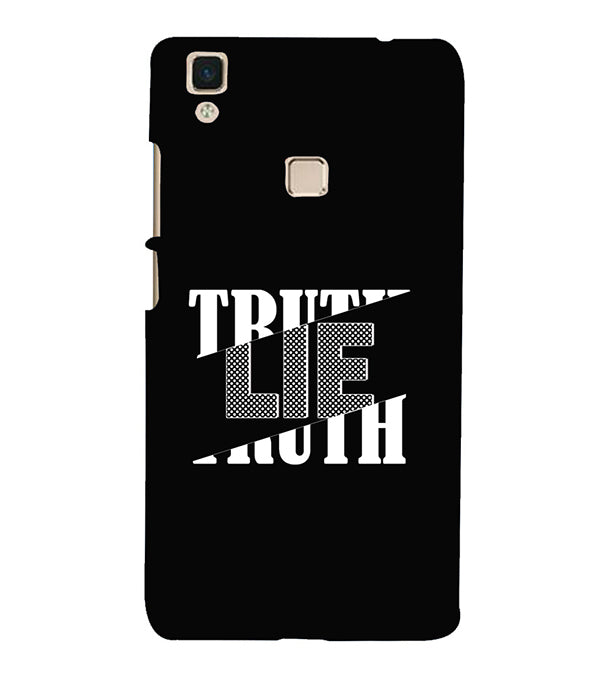 Truth and Lie Back Cover for Vivo V3Max