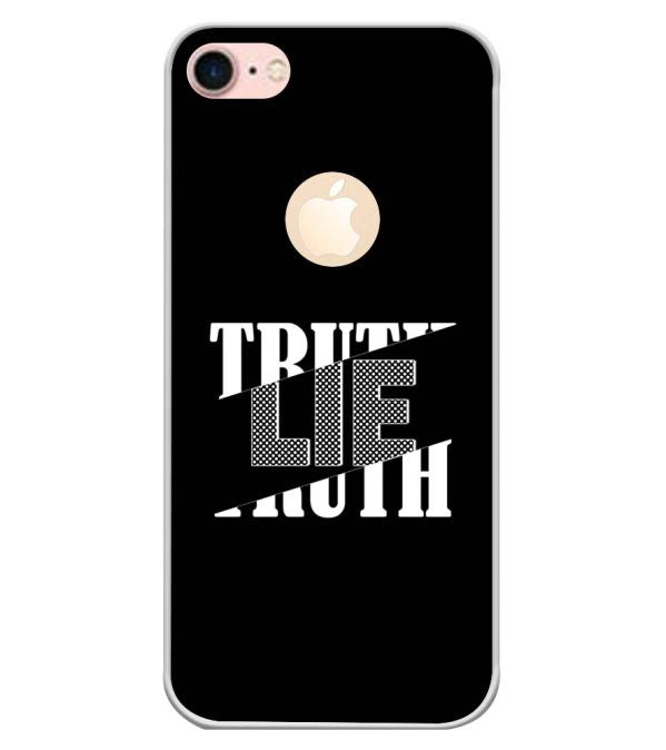 Truth and Lie Back Cover for Apple iPhone 7 (Logo)-Image3