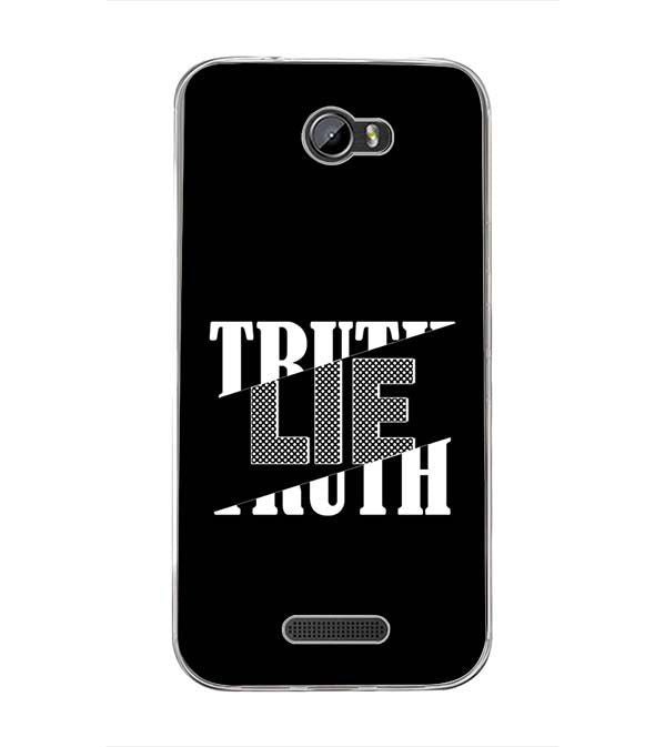 Truth and Lie Back Cover for Intex Lion 3
