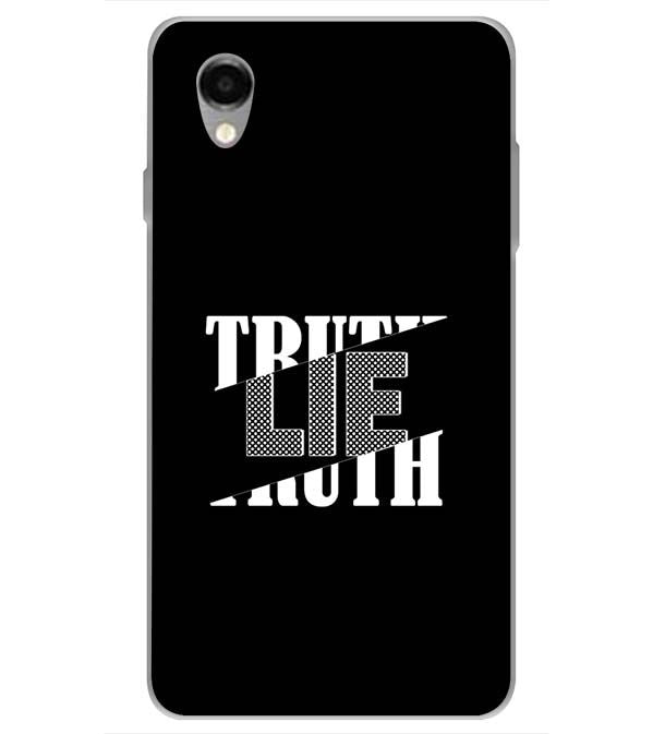 Truth and Lie Back Cover for ITEL PWO Pro