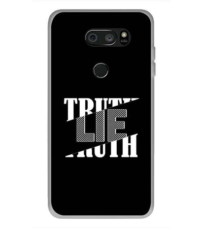 Truth and Lie Back Cover for LG V30 Plus-Image3