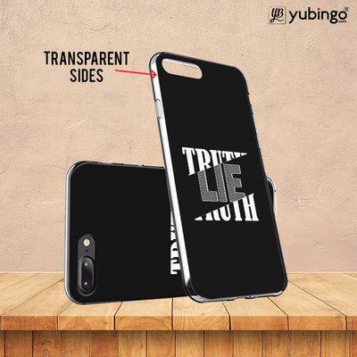 Truth and Lie Soft Silicone Back Cover for Vivo X21-Image3