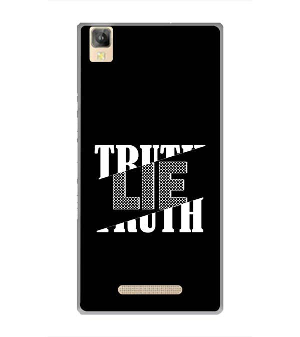 Truth and Lie Back Cover for Panasonic Eluga A2
