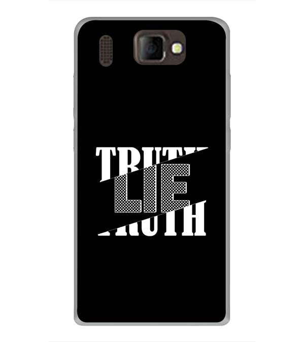 Truth and Lie Back Cover for Panasonic P66 Mega